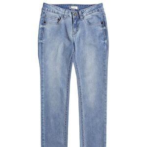 ROXY Girl's La Luna Llena Slim Fit Jeans size 10